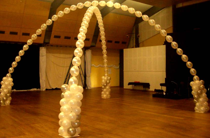 Helium balloons jspromotions for Balloon arch no helium